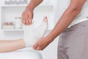 Offene Beine - Wundversorgung